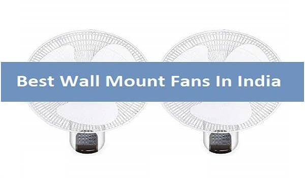Best Wall Mount Fans In India